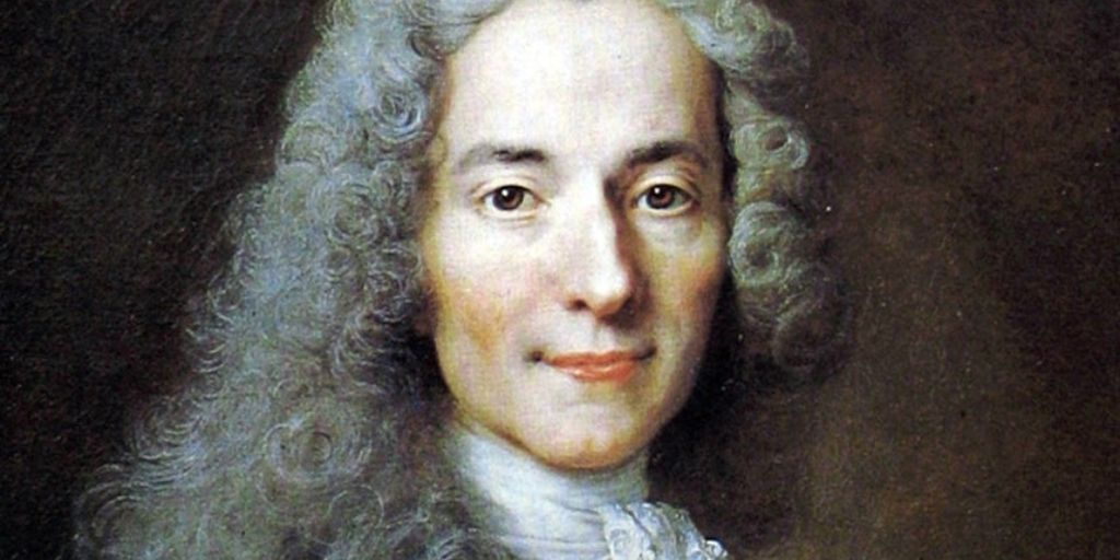 Voltaire - one of the very best french authors