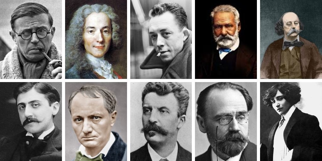 best french authors