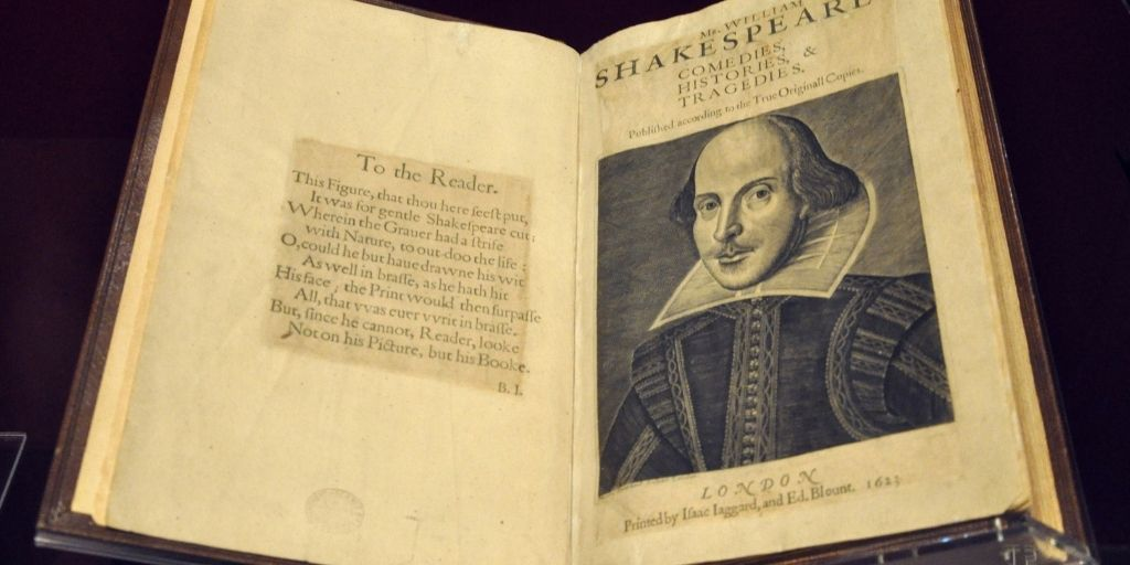 The most influential book ever? Shakespeare's first folio