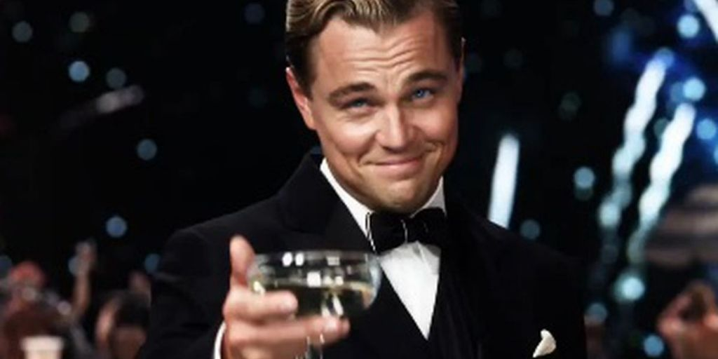 Leonardo in The Great Gatsby, the great american novel