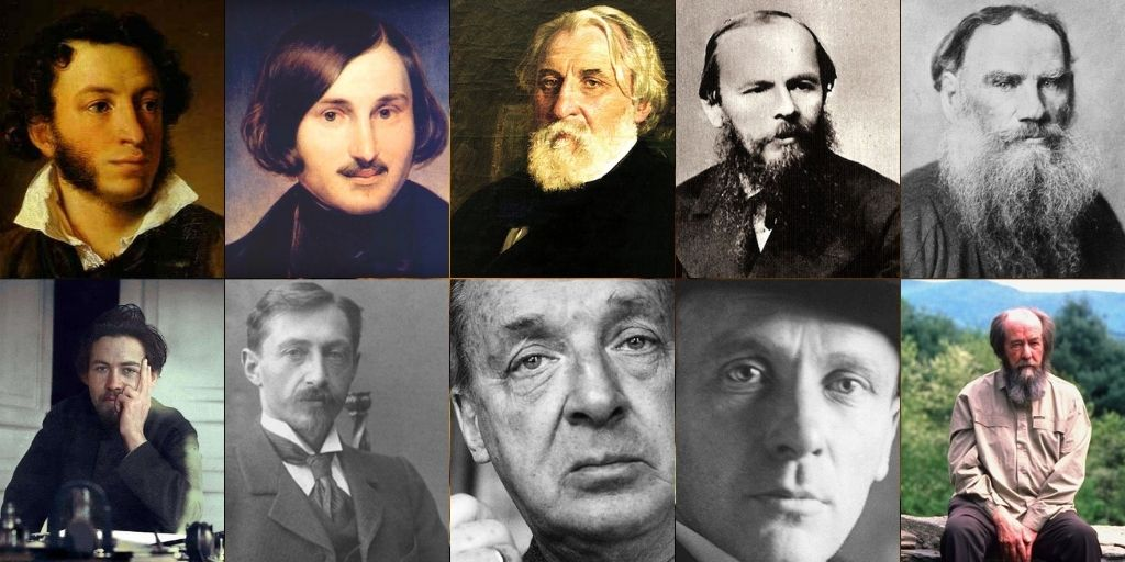 best russian authors