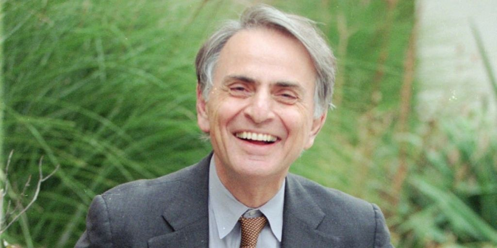Carl Sagan  (1934 – 1996), scientist & novelist