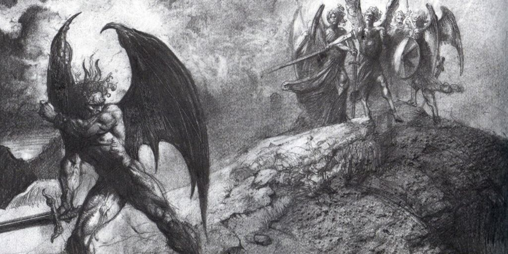 Illustration from Paradise Lost